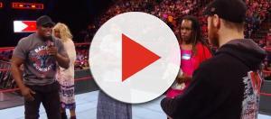 WWE airs problematic, tone-deaf segment on 'RAW.' - [Image Source: WWE / YouTube screencap]