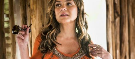 Laureta vai acusar Luzia de assassinato do ex-marido