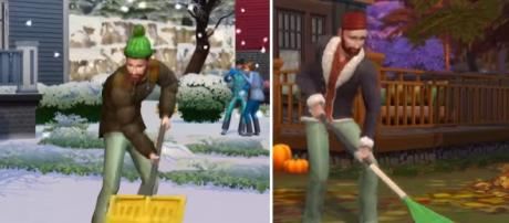 'Sims 4: Seasons' expansion preview -- Image via YouTube/Sims 4 Channel