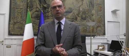 Angelino Alfano, ministro degli Affari esteri.