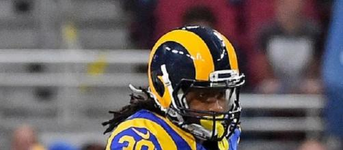 Are Todd Gurley and the Rams really contenders in 2018? Photo by Keith Allison via Flickr