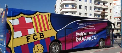 bus du FC Barcelone à Tunis ?! - espacemanager.com