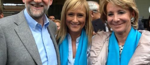 Esperanza Aguirre en el eje de la corrupción educativa