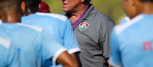 Fluminense encerrou as preparações para a partida contra o Atlético Paranaense. (foto reprodução)