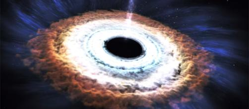 Fonte: https://www.engadget.com/2015/11/30/black-hole-ejects-massive-energy-jet-after-devouring-a-star/