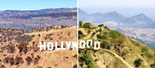 Grand Theft Auto V: Comparan Los Santos con Los Ángeles mediante ... - alfabetajuega.com