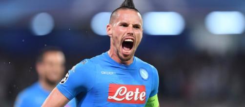 Hamsik, miglior marcatore della storia del Napoli