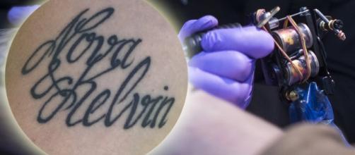 Johanna mudou o nome do filho após fazer tatuagem com grafia errada