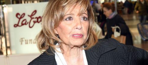 María Teresa Campos, más hundida que nunca.