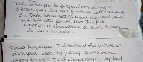 Neymar envoi un lettre émouvante à la famille d'Angélique Six