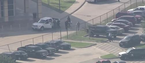 The Santa Fe school shooting added one more to a long, disturbing list of mass shootings. [image source: USA TODAY - YouTube]