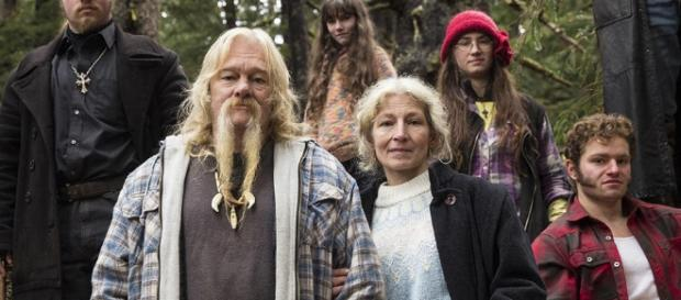 'Alaskan Bush People' screenshot from the show