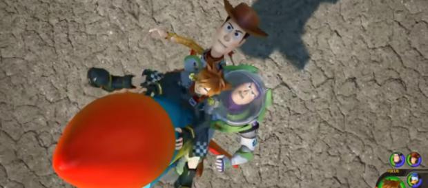 KINGDOM HEARTS 3 - NEW Gameplay Walkthrough No Commentary Demo PS4 (Toy Story) 2018 [Image Credit: Izuny/YouTube screencap]