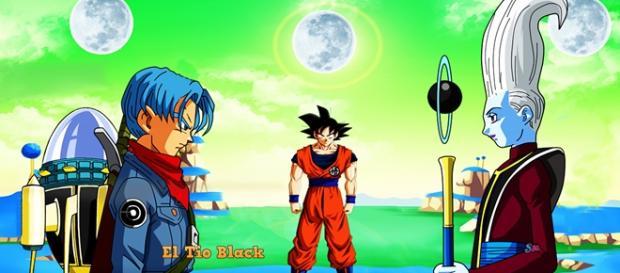 Nuevo Anime Dragon Ball Héroes estreno: 1 Julio Titulo Nueva Saga: Planeta Prisión
