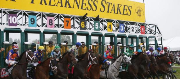 Pimlico will once again host the Preakness Stakes this Saturday. [Image via NBC Sports/YouTube]