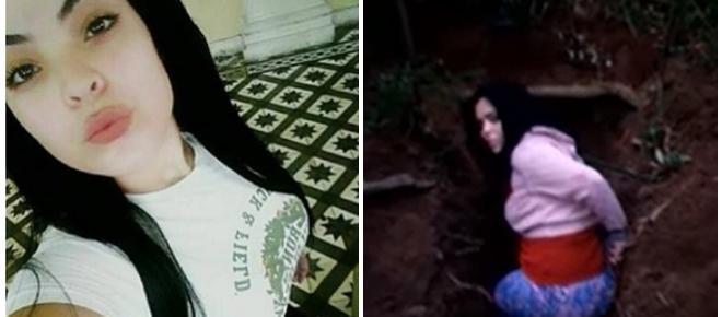 Namorada de traficante aparece em vídeo sendo morta a mando dele, que está preso