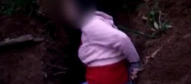 Moça executada com requintes de crueldade deixa mensagem que ajuda polícia