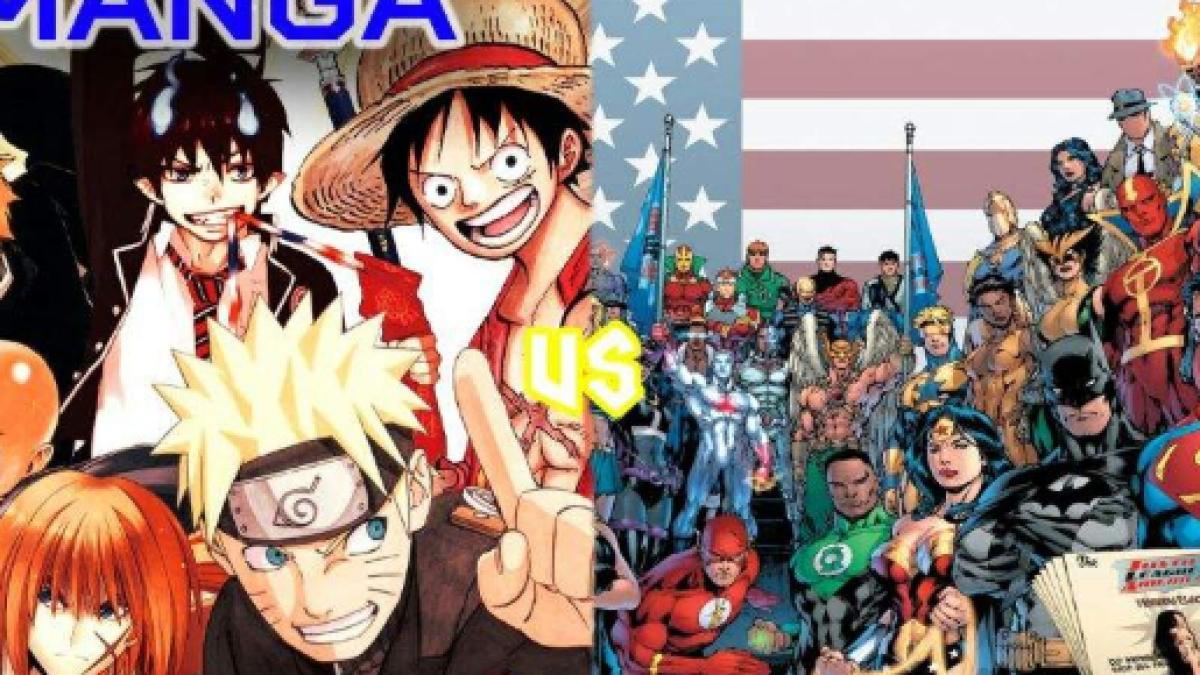 Resultado de imagen para manga y comic