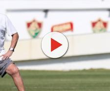 Abel pode modificar o ataque do Fluminense para encarar o Atlético-PR (Foto: Globoesporte)