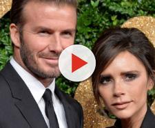 Victoria Beckham e il marito David Beckham