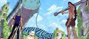 One Piece: Zoro e Viper combattono insieme