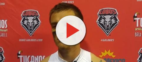 Austin Apodaca spent his junior and senior years with New Mexico (Image Credit: New Mexico Lobos/YouTube)