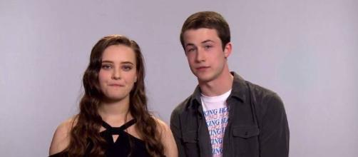 13 Reasons Why: Hannah Baker y Clay Jense