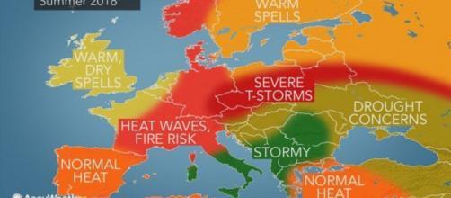 AccuWeather lancia l'allarme: fenomeni estremi in Italia