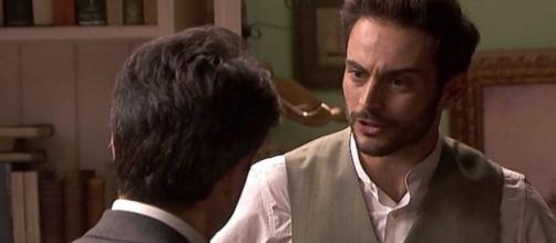 Anticipazioni Il Segreto: Saul discute animatamente con Carmelo
