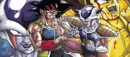 Bardock vs Freezer by HizakiStudio