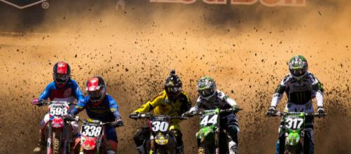 Dirt will fly when the gates drops in Saturday's opening round MX action. [Image source: Adam Robinson - Flickr]