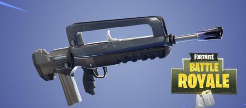 El daño al rifle de asalto es algo así como un truco.