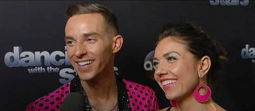 Figure skater Adam Rippon predicted to win 'Dancing with the Stars: Athletes' [Image: Access - YouTube]