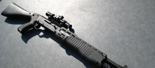 Franchi SPAS-12 Shotgun (Image credit – Joguwa86, Wikimedia Commons)
