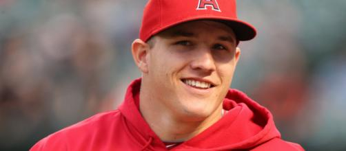Mike Trout had himself a career night against the New York Yankees. [Photo via Keith Allison/Flickr]
