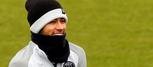 Neymar en el centro de atención