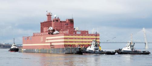 Rusia inaugura planta nuclear flotante