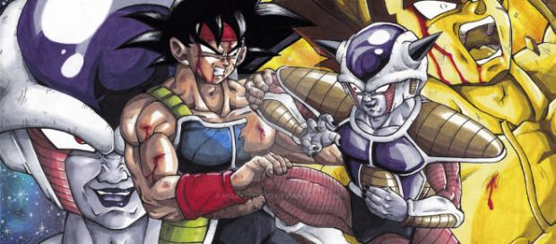 Bardock vs Freezer by HizakiStudio