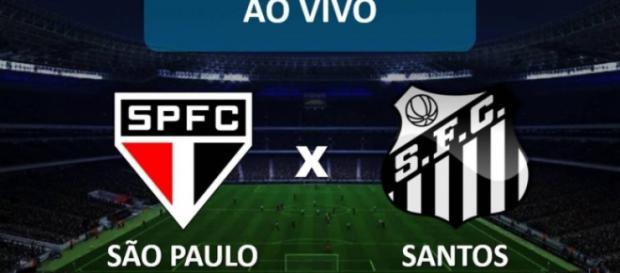 Brasileirão: São Paulo x Santos ao vivo