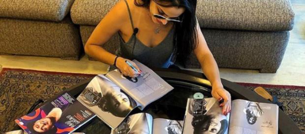 Ex-BBB Emilly Araújo publica foto nas redes sociais. (foto reprodução).