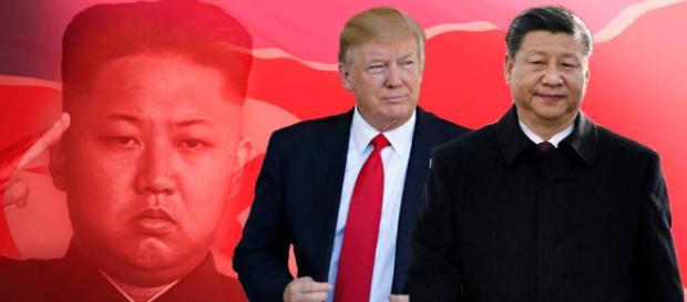 Gobierno de Donald Trump: Trump y contra china
