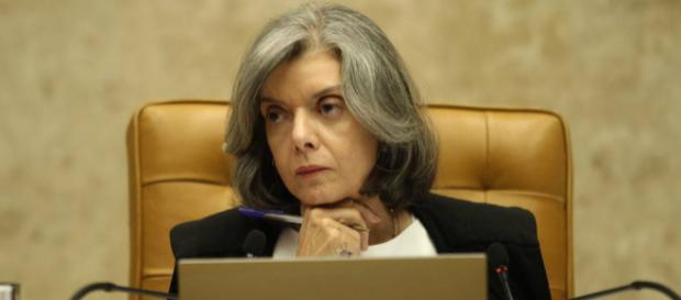 Presidente do Supremo, ministra Cármen Lúcia. (foto reprodução).