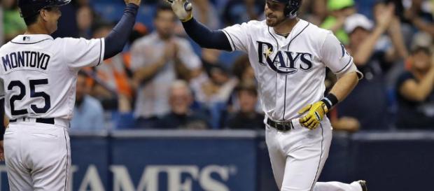 Rays apalean a Orioles con poder de Longoria y Morrison | Tampa ... - mlb.com