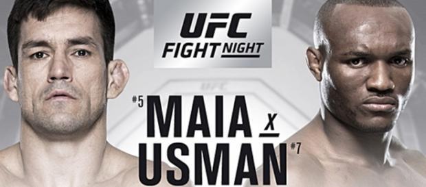UFC Chile ao vivo: Demian Maia luta