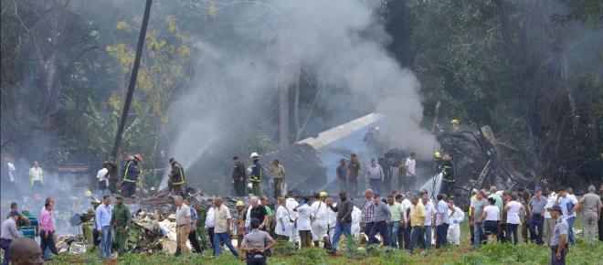 Flugzeugabsturz in Havanna, Kuba