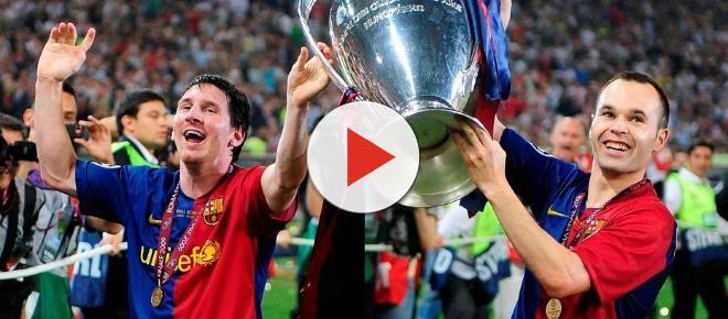 Todos los títulos de Iniesta con el Barcelona