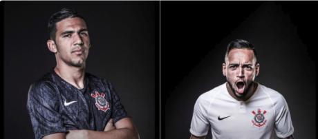 Corinthians divulga novo uniforme para 2018. (foto reprodução).