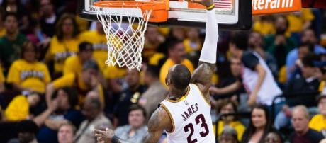 NBA Playoffs: LeBron James and James Harden on fire as Cleveland ... - thenational.ae