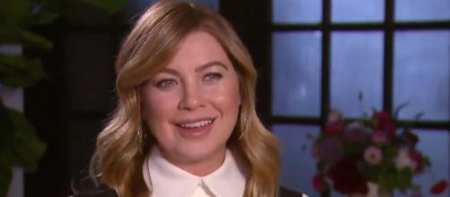 Ellen Pompeo - Meredith Grey FONTE: Screen YT
