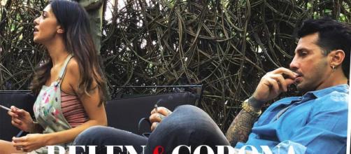 Fabrizio Corona paparazzato con Belen Rodriguez dal settimanale Chi